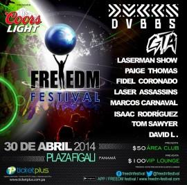 Freedm Festival, Panama City