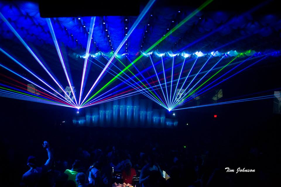 Full Color laser shows