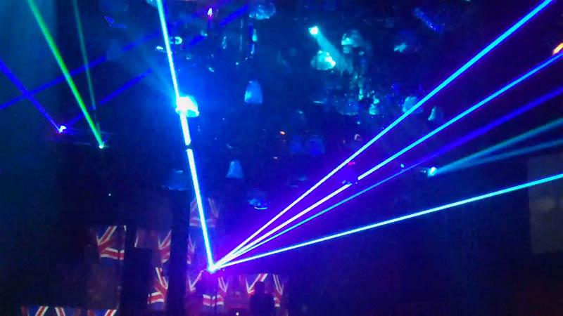 full color laser shows