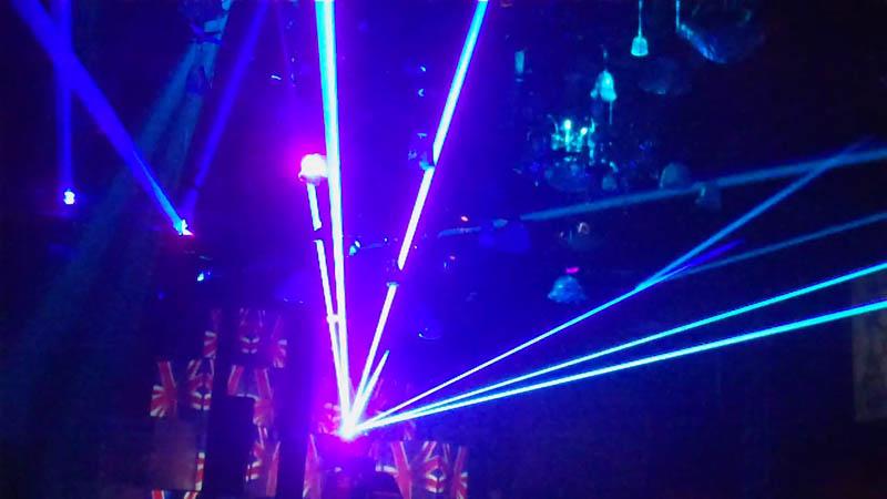 Laser Light Shows Key West, Florida