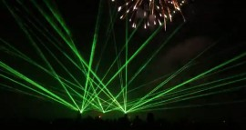 Green & Yellow lasers, laser light shows