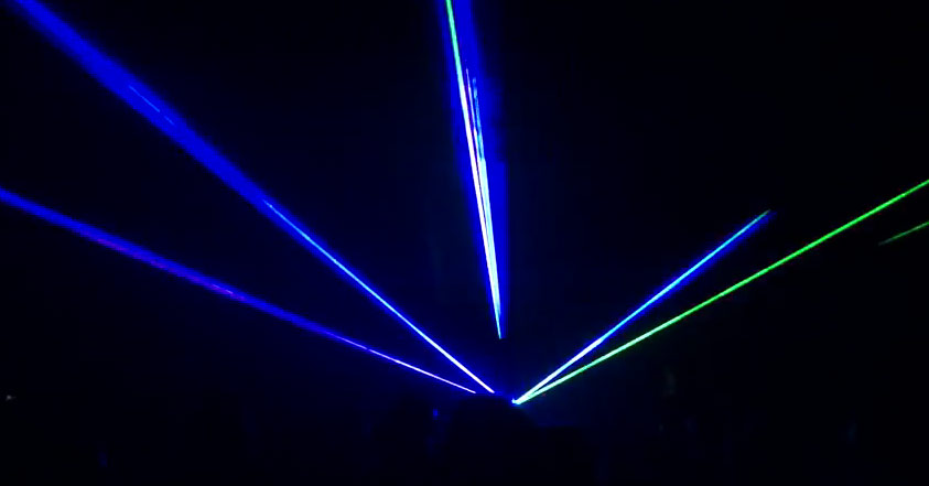Color Lasers, laser beams