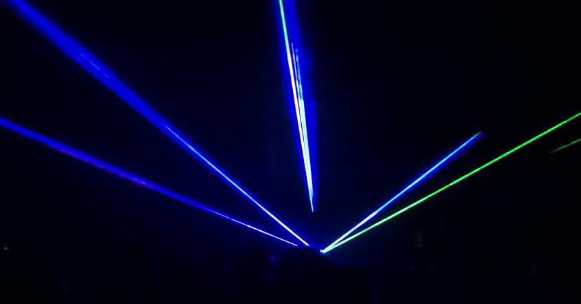 Color Lasers, laser beams