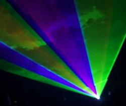 Laser Light Beams, Laser Light Shows