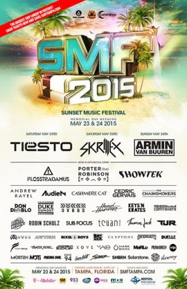 Sunset Music Festival 2015