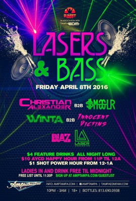 Lasers & Bass