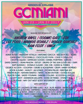 The Groove Cruise 2017